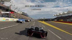 Gran Turismo Sport.