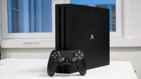 PlayStation 4 Pro.