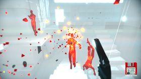 Superhot: Mind Control Delete byr på flere utfordringer med tidsmanipulasjon.