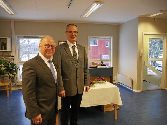 LYST OG TRIVELIG: Begravelsesbyrået fant frem til lokalene de nå har åpnet i i mai. Nå står Kolbotns nye begravelsesbyrå ferdig og åpnet.
