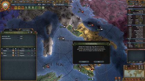 Som alltid er det viktig å gjøre territorier om til stater.