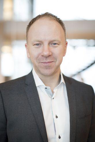 Jørn Skaaraas, avdelingsleder for systemutvikling i Sopra Steria.
