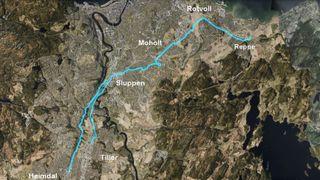 Denne sykkelveien vil koste mer enn 110.000 kroner per meter