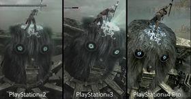 Se hvordan Shadow of the Colossus har utviklet seg med årene.