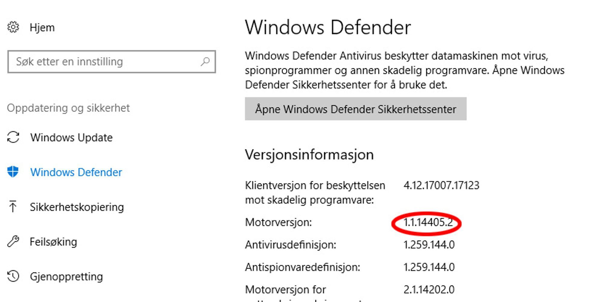 Windows-brukere som benytter sikkerhetsprogramvare fra Microsoft, bør forsikre seg om at Microsoft Malware Protection Engine nylig har blitt oppdatert.