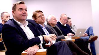 Radiosjefene Lasse Kokvik (Bauer Media) og Kenneth Andresen (P4).