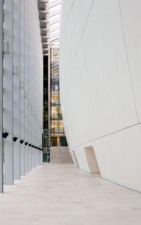 Utvidelse av Natural History museum i London utformet som en stor kokong, som samler Darwins arkiv i en glassboks.