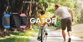 På hjemmesidene til Gator reklamerer de for smartklokken som «Barnets første mobiltelefon».