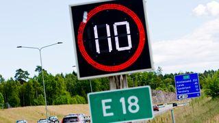 Anbefaler lavere fartsgrenser for å nå nullvisjonen