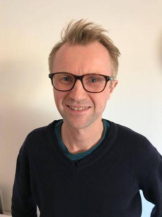 Redaksjonssjef for TV, Håkon Moslet, i NRK P3.