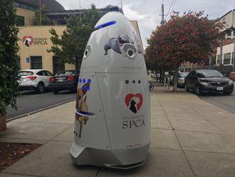 Denne roboten patruljerte gatene. SF SPCA kalte roboten for K9 (
