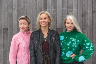 - Jeg har fulgt Splay siden oppstarten i Sverige, og gleder meg hemningsløst til å jobbe med disse flinke folka, sier Karine Thyness (i midten).
