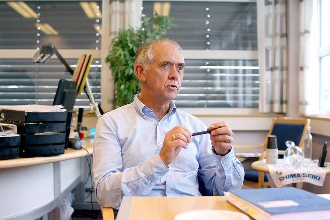 – Vår oppgave har vært å være bindeleddet mellom forskningen og industrien, sier Lars Einar Riksheim i Amatec.