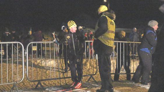 FRA ET TIDLIGERE LØP: Karusellrennene har lang tradisjon i OIs skigruppe, og er svært populære. Her ser du fra et av fjorårets renn.
