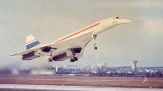 Jomfruferden med Concorde, 2. mars 1969.