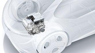 E-Axle er en komplett drivlinje til biler.