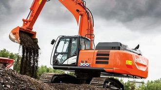 Gravemaskinimportør Nasta vil elektrifisere en 30-tonns gravemaskin.