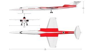 Dette kan bli verdens første privatfly som flyr raskere enn lyden