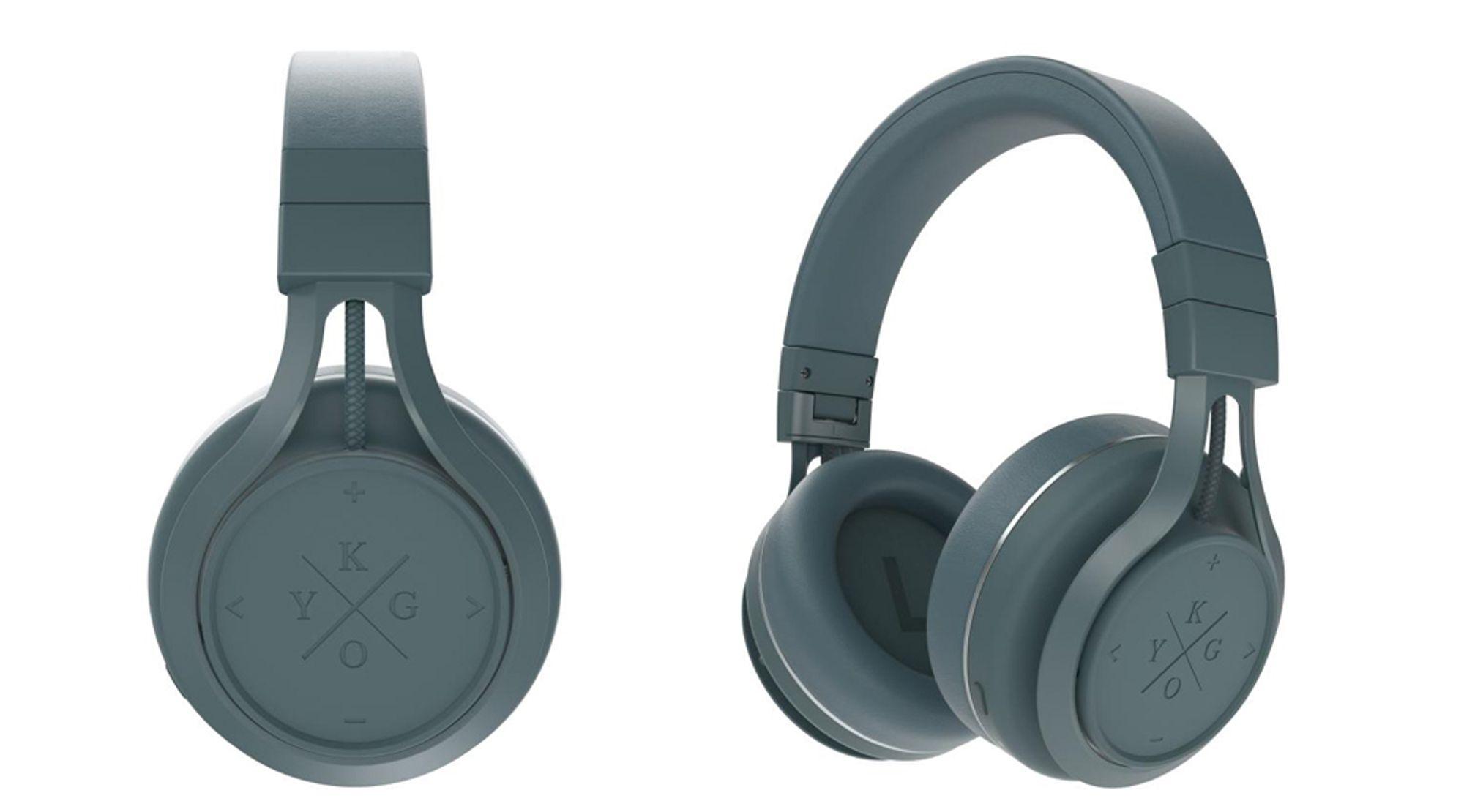 Et trådløst headsett fra Kygo ligger i luke 20.