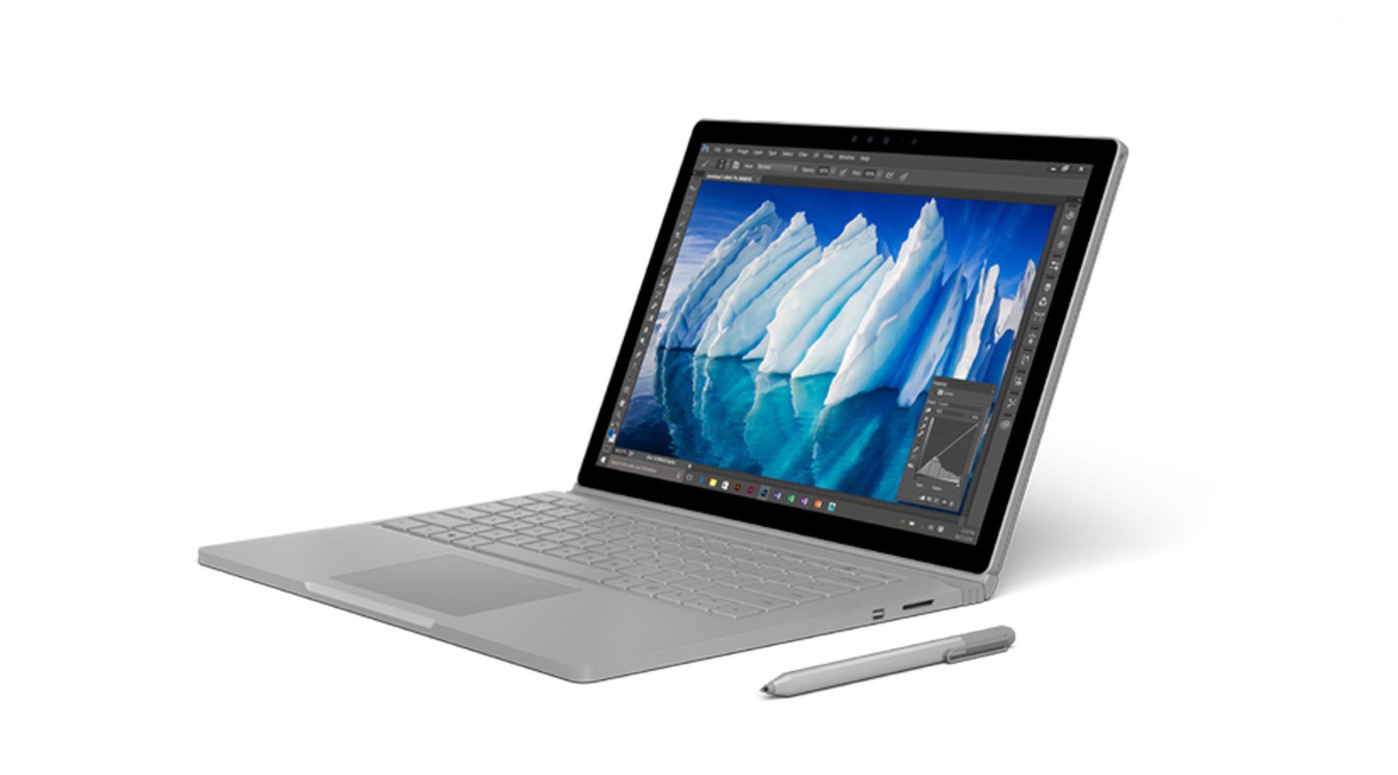 Stor premie: I dag ligger det en Surface Book fra Microsoft i kalenderluken.