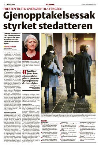 2013: Gjenopptakelseskommisjonens behandling svekket domfeltes sak, ifølge lokalavisa.