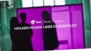 Faksimile av reklame for Telia Music Freedom