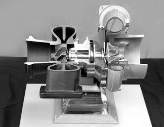 1905: Sveitseren Alfred Büchi tar patent på turboladeren.