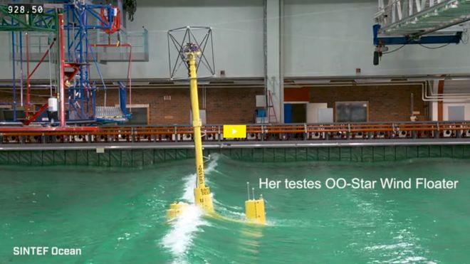 Denne vindturbinen kan ha løst to problemer som gjør flytende havvind så dyrt