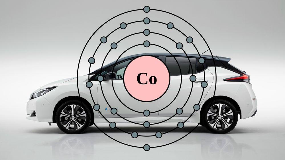 Nye Nissan Leaf benytter et batteri med nikkel-mangan-kobolt-kjemi i katodematerialet.