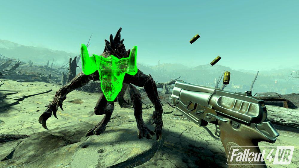 V.A.T.S. er som skapt for VR.
