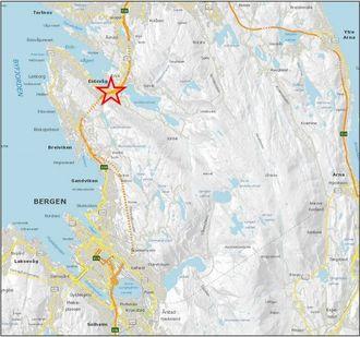 Ulykken skjedde på E39 ved Åsane i Bergen kommune.
