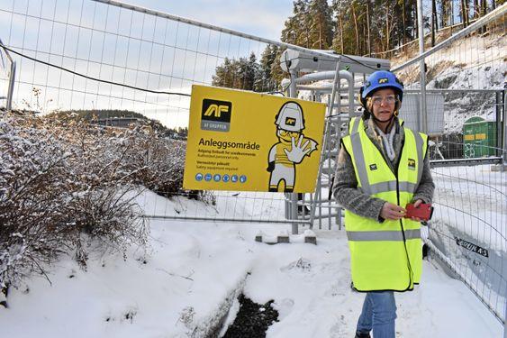 ETTER PLANEN: Prosjektleder Aud Val opplyser at prosjektet går som planlagt.
