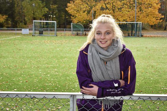 HJEM TIL SARPSBORG: I julen liker hun aller best å ha en rolig uke med familien hjemme i Sarpsborg.