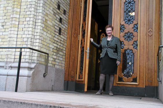 I MAKTENS HØYBORG: I mange år var Stortinget Sylvi Grahams arbeidsplass. Her representerte hun Oppegård og Akershus.