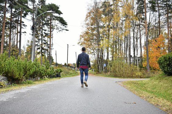 FINNER FREM: Ny i nabolaget, ny i by'n. Men Mani og samboeren skal nok finne seg til rette, her også.