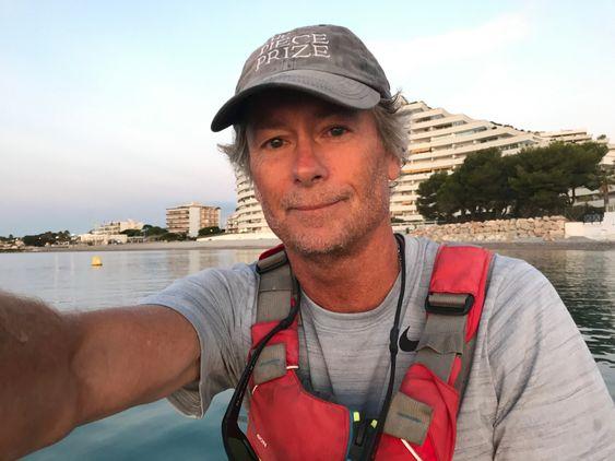 DOKUMENTERTE: Mark dokumenterte hele reisen i bilder og videoer.