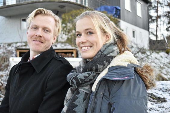 BARN AV SOFIEMYR: De vokste opp her i Wessels vei, og etter hvert dro Erlend til Oppegård, men Ingvild