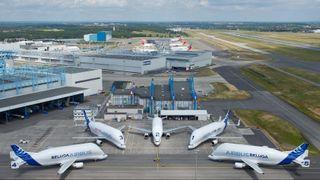 I 25 år var det Boeing-giganter som hjalp Airbus med å bygge fly i Europa