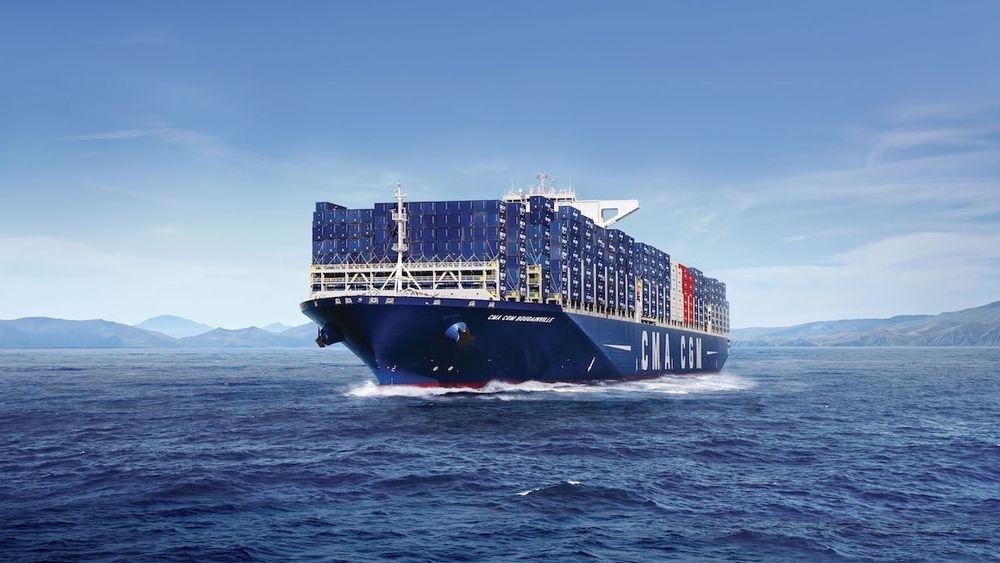 CMA CGMs Franklin Roosevelt er på 18.000 TEU og levert i 2015. I 2020 får rederiet LNG-drevne skip på 22.000 TEU.
