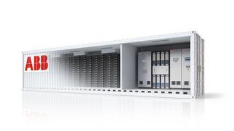 ABBs Power Store er en konteinerbasert batterilagringsløsning, som blant annet kan erstatte gassturbiner offshore.