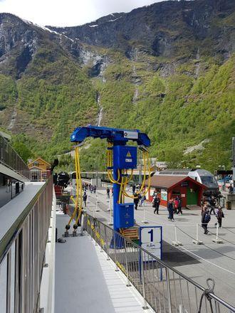 Vision of the Fjords lader i Flåm og Gudvangen. Det skal også søsterskipet Future of the Fjords.
