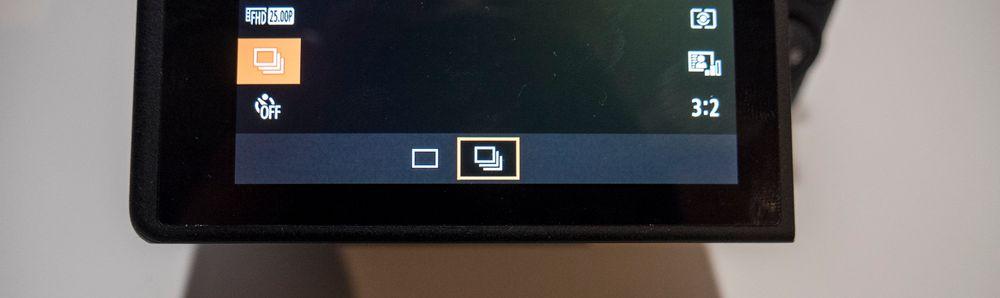 Se etter dette symbolet i menyen eller på en av knappene.