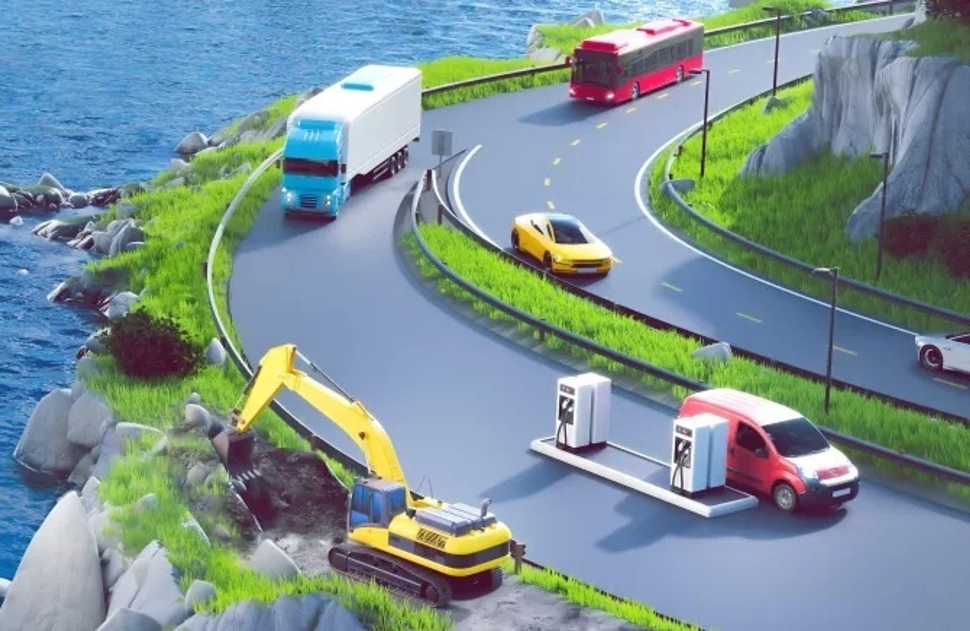 Transport av matvarer, betong og gravemaskiner. Dette er blant prosjektene som skal dele på 117 millioner for å få produkter fra papirplan til produksjon.