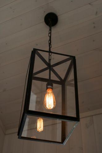 Den ser kanskje ikke så futuristisk ut, men dette lyset kan også fjernstyres og automatiseres.