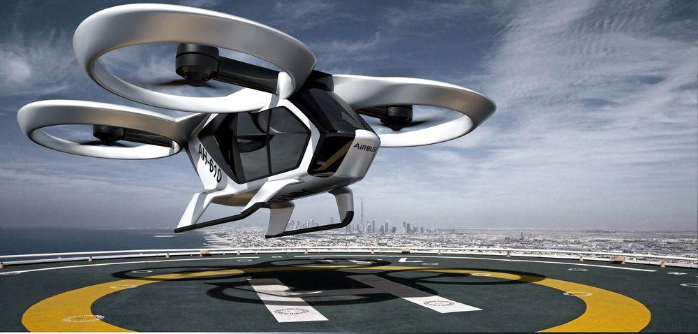 Allerede i slutten av 2018 skal Airbus prøvefly nye helelektriske CityAirbus. Den nye droneliknende luftfarkosten skal ta tre passasjerer og en pilot, men målet er autonom flyving, slik at alle fire kan være passasjerer.