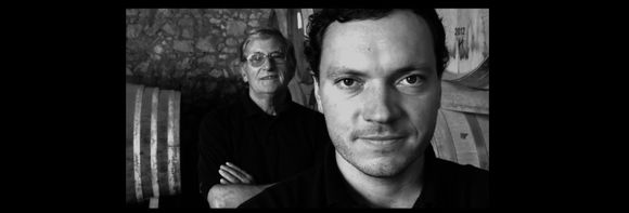 Yoann og faren Joseph Le Menn.