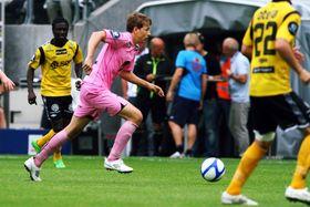 DEBUTERTE I ELITESERIEN: Skaasheim debuterte borte mot Start i eliteserien i 2012, det fyrste året han var på proffkontrakt. No har han lagt opp.– Eg har lyst til å gjera andre ting i livet òg, seier Skaasheim.