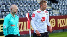GODT HUMØR, OGSÅ PÅ BANA: Skaasheim vert  skildra som  ein glad gut av Sogndal fotball.