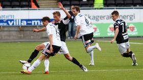DEBUTERTE FRÅ START: Skaasheim debuterte frå start i eliteserien i ein bortekamp mot Odd der Sogndal vann heile 4-0. 19-åringen spela som ein driven veteran, fortel Rune Sjøberg i Sogndal fotball.