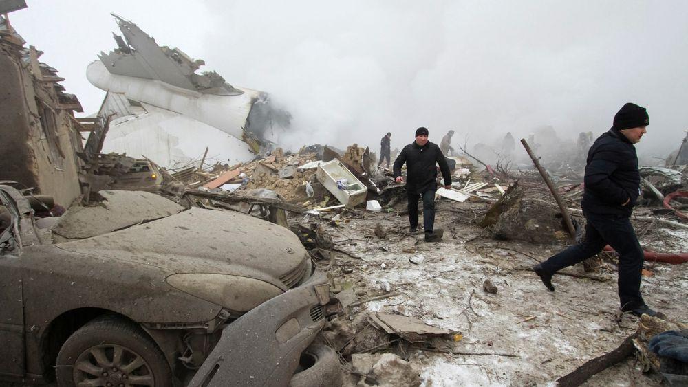 Den flyulykken som krevde flest liv i 2017 skjedde 16. januar, da et B747-400F fraktfly havarerte under landing på Manas lufthavn i Kirgisistan. 39 omkom i ulykken, 35 av dem befant seg på bakken.